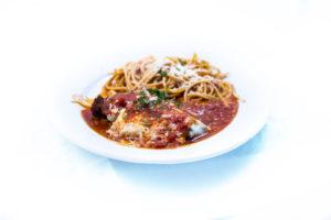 Pollo Parmesan w/ Spaghetti - Tiramisu - Quincy, IL